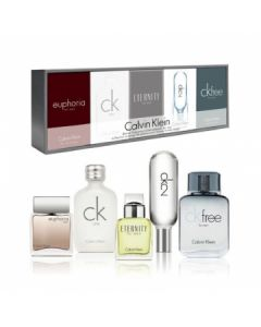 Calvin Klein CK Deluxe Fragrance 5pcs Gift Set For Men