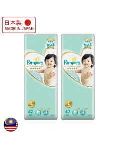 Pampers Ichiban Taped Large 42's 2 Packs Japan