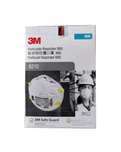 3M N95 8210 Mask 1 Box: 20 Pcs