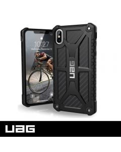 [iPhone XS Max] UAG Monarch Rugged Case Crbn Fibre