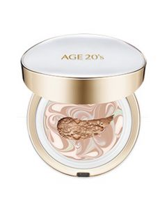 Age 20's Signature Essence Cushion Foundation Long Stay - White #21 Light Beige SPF50+ PA++++