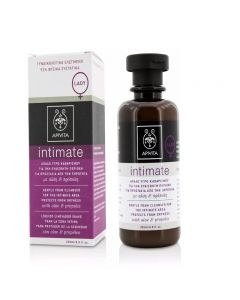 Apivita Intimate Gentle Foam Cleanser For The Intimate Area Protects From Dryness 200ml - LADY