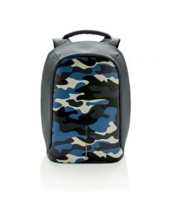 Bobby Compact Anti-Theft backpack - Camouflage Blue