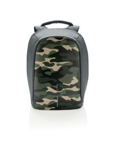 Bobby Compact Anti-Theft Backpack - Camouflage Green