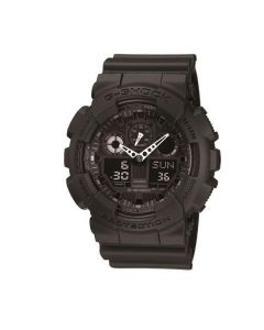 Casio G-Shock GA-100-1A1 Black Resin Band Men Sports Watch