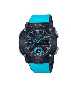 Casio G-Shock GA-2000-1A2 Blue Resin Strap Men Watch