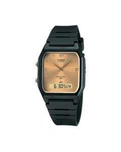 Casio General AW-48HE-9A Black Resin Band Men Watch