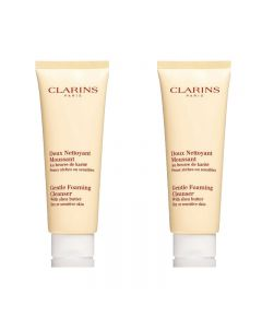 CLARINS Gentle Foaming Cleanser 125 ml x2