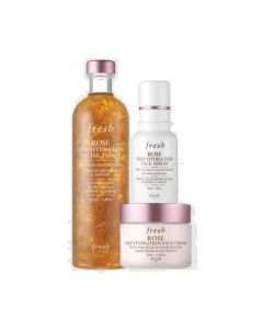 Fresh Rose Deep Hydration Skincare Routine