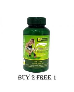 Leptin Green Coffee Capsule 60's Buy 2 FREE 1