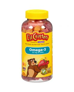 Lil critters USA Omega 3 180s