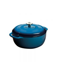 Maxwell & Williams Lodge Enameled Cast Iron 6 Qrt-Blue