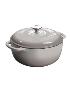 Maxwell & Williams Lodge Enameled Cast Iron 6 Qrt-Grey