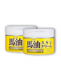 Japan Loshi Horse Oil Moisture Skin Cream 220g x 2