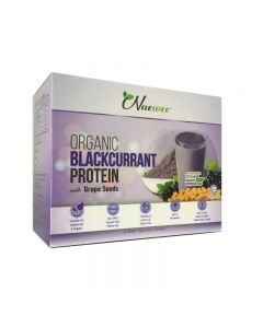 Nuewee Organic Blackcurrant Protein Powder 10 Sachets