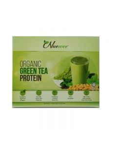 Nuewee Organic Green Tea Protein Powder 10 Sachets