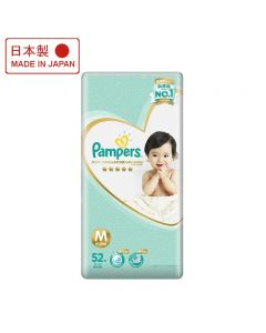 Pampers Ichiban Taped Medium 52s Msia