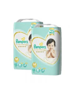 Pampers Ichiban Taped Medium 62's 2 Packs Japan