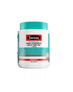 Swisse Ultiboost Odourless High Strength Wild Fish Oil 400