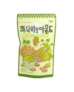 Tom's Farm Wasabi Almonds Nuts Korea 210g