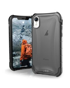iPhone XR UAG Plyo Rugged Case Ash Smoke