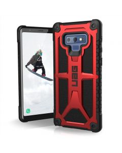 UAG Monarch Ruggerd Case for Samsung Galaxy Note 9 Crimson