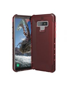 UAG Plyo Rugged Case Samsung Galaxy Note 9 Crimson Clear Red