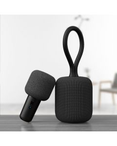 WizikGo Wireless Professional Dual Portable Speaker with Mic Black